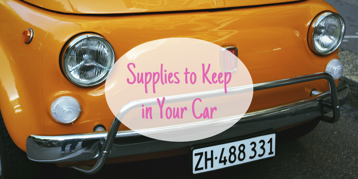 Supplies you should keep in your car