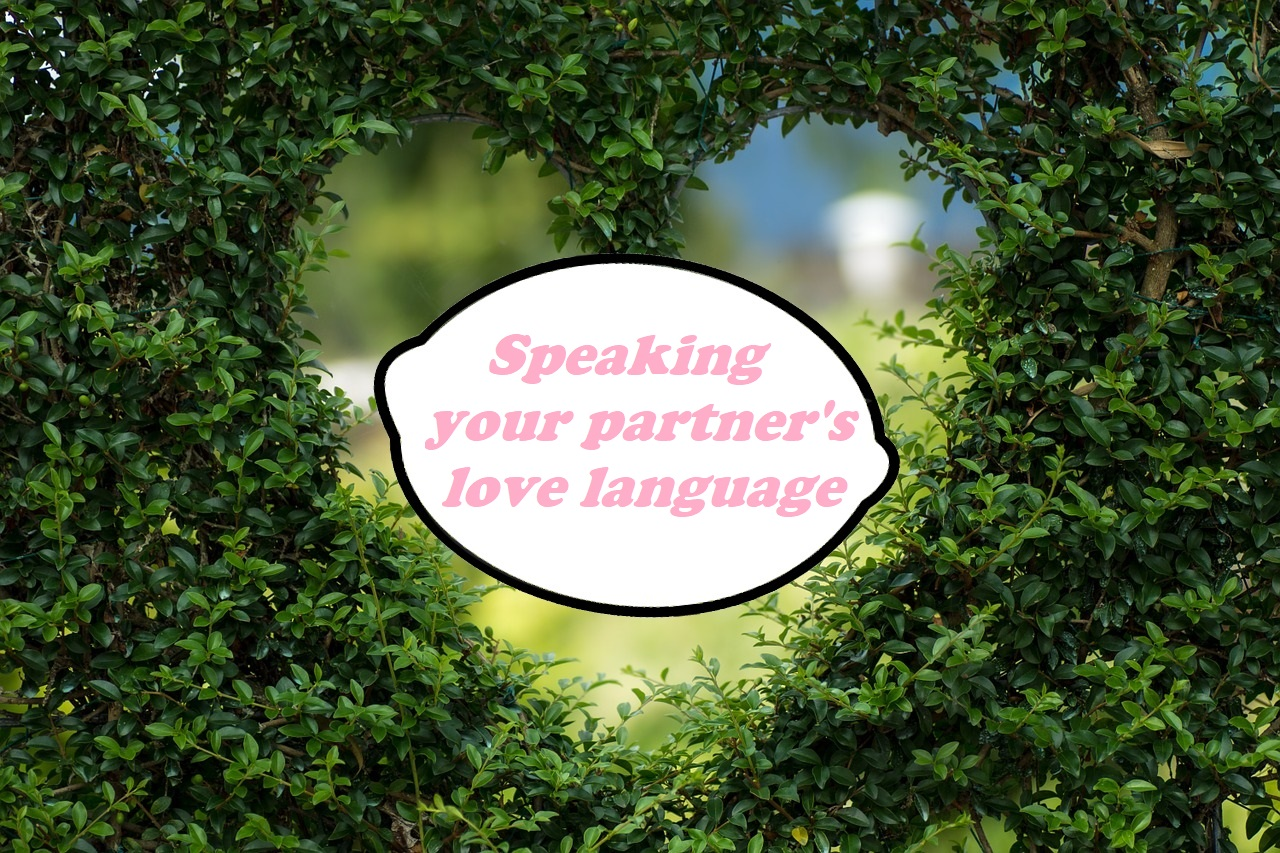 Ideas to help you speak your partner's love language
