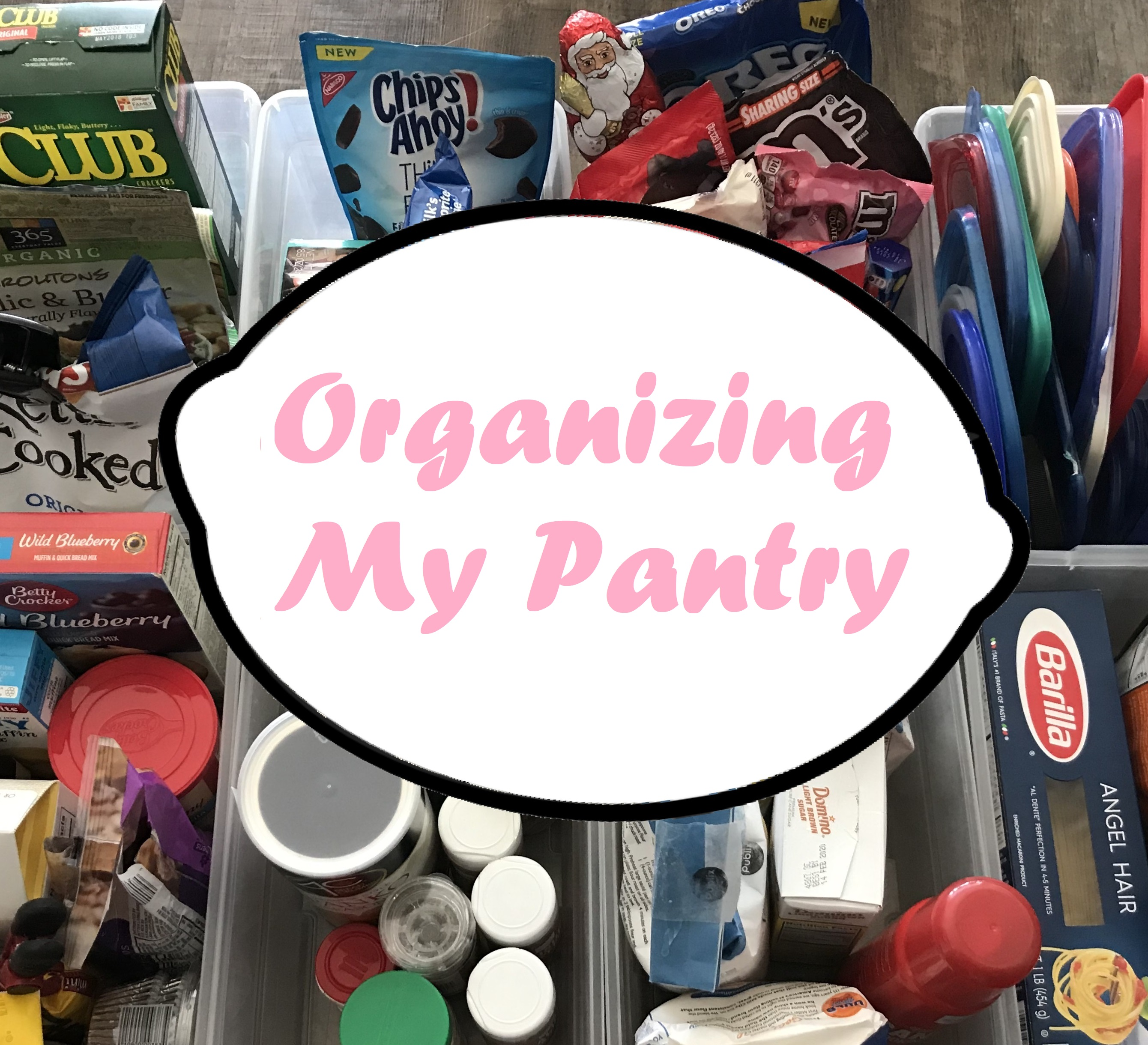 Organizing my Pantry of Shame