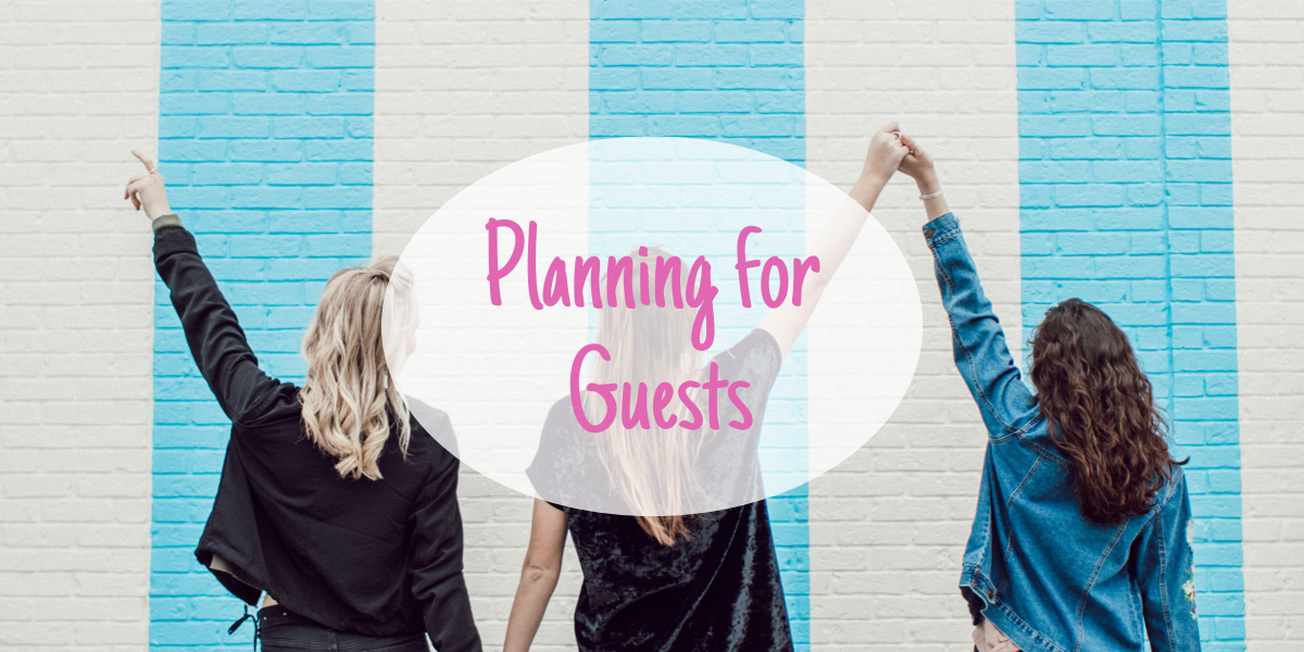 Planning for Guests with a Visitor Activity Menu