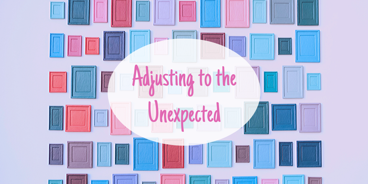Adjusting to the Unexpected
