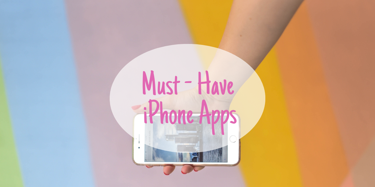 Must have iPhone apps for a 20-something