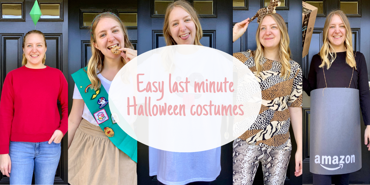 Easy last minute Halloween costumes