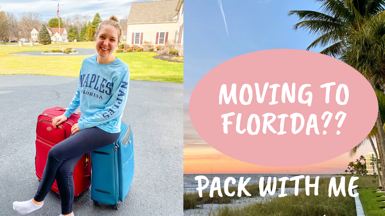 Read more about the article Moving to Florida?? Pack with me – VLOG