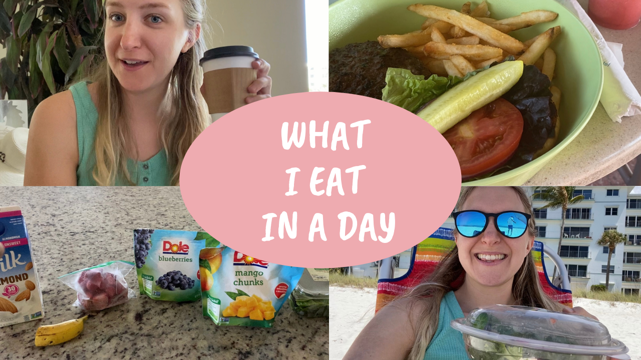 What I eat in a day – VLOG