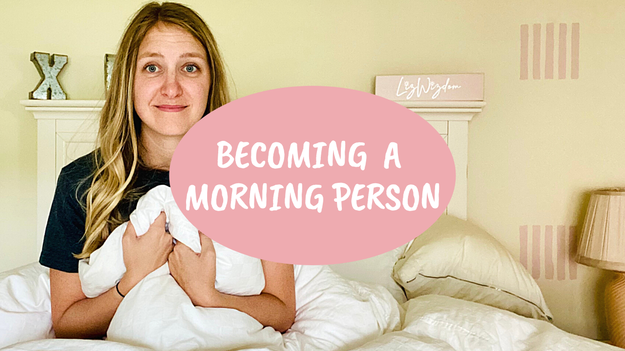 Read more about the article Becoming a morning person – waking up early for a week – VLOG