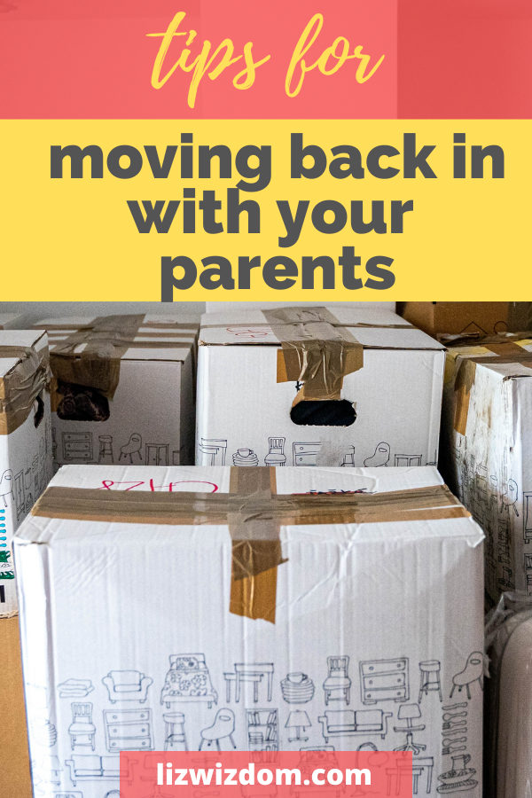 move back in with your parents